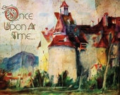 Once Upon A Fairy Tale - Whimsical Poster Art 18x24
