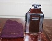 "1964 Ronson Varaflame "" Mastercase"" Lighter/Cigarettes Holder ( w/ original pouch)"