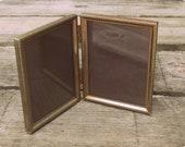 Vintage Antique Gold Folding Frames - 1960s