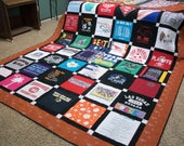 Memory T-Shirt Quilt-(Crib to King size) OOAK This listing is for DEPOSIT ONLY