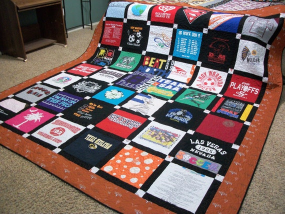 Memory T Shirt Quiltcrib To King Size Ooak This By