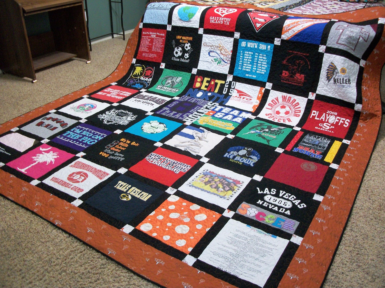 Memory T Shirt Quiltcrib To King Size Ooak This Listing Is