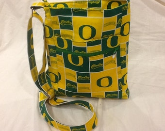 Two Zip Hipster Bag - Oregon Ducks