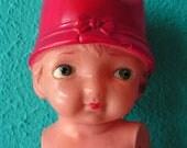 Antique Vintage Celluloid Doll, 1920s - 1930s, RARE