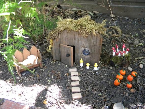 Rustic Fairy House