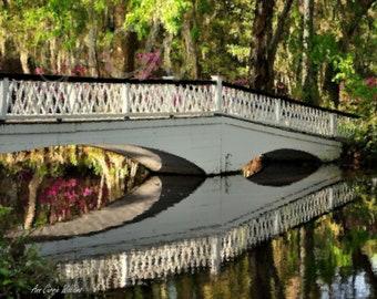 Garden Bridge at Magnolia Gardens in South Carolina