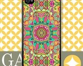 iPhone 6 Case, iPhone 6 Plus Case, iPhone 6 Edge Case, iPhone 5 Case, Galaxy S6 Case, Galaxy S5 Case, Galaxy Note 5 Case - Pink Paisley
