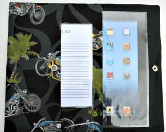 iPad, iPad2, iPad3 Case / Cover / Sleeve padded (READY TO SHIP) - Choppers