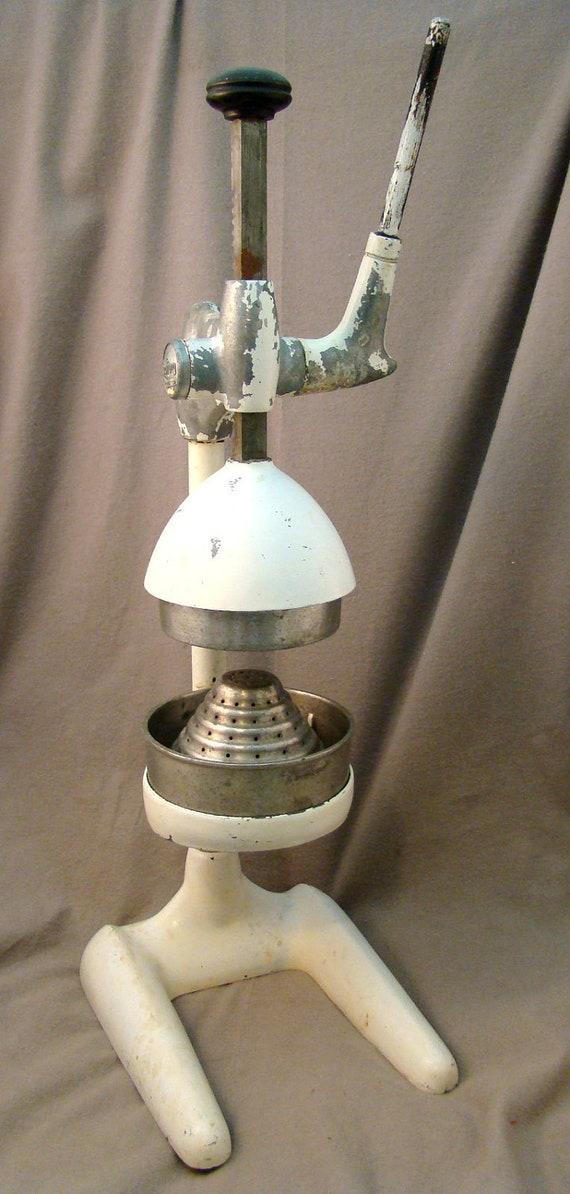 Vintage Juice King Deluxe Juicer Cast Aluminum Model No D 11
