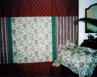 Fresco Garnet - King Duvet Set