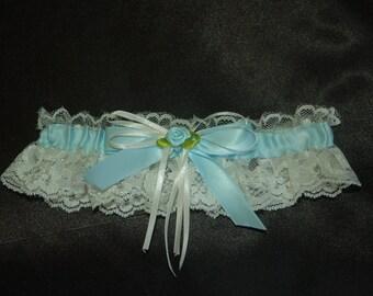 traditional something blue Garter
