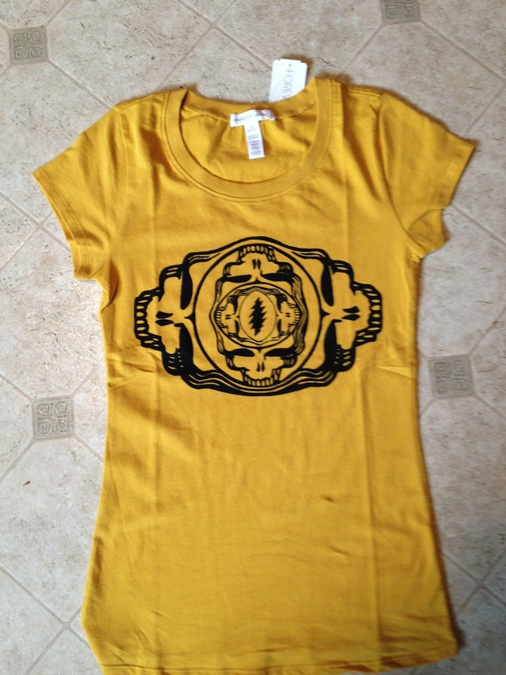 """Grateful Dead Womens Tee """"Upside Out or Inside Down"""""""