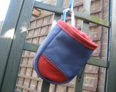 Handmade Leather Chalk Bag Pouch