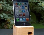 BLACK FRIDAY 33% OFF - Ecoustik iPhone dock - Cherry (shown in main image)