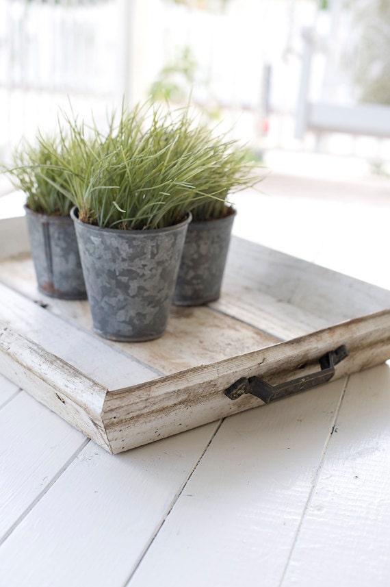 Shabby Chic Wooden Tray