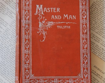 Antique Book, Master and Man