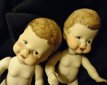 Bisque Boy Doll with Freckle Face (1)
