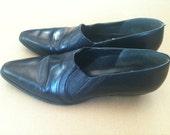 Short Vintage Cowboy Boots