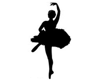 Ballet Dancer Vinyl Decal Sticker