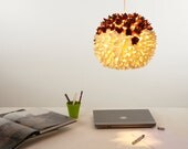 Crowning Glory Hanging Paper Lampshade Pendant Light Shade (GG009)