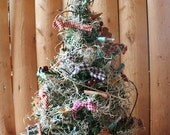 Country Christmas Holiday Tree with Lights