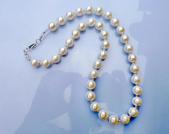CollierKette Muschelkernperlenkette, shell pearl