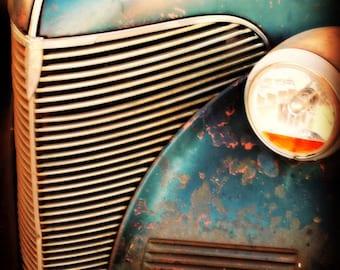 Old Chevy Truck - 8x10 Print - Rustic Wall Art - Classic Car Art Prints - Retro Print - Vintage Car Photography - Garage Art