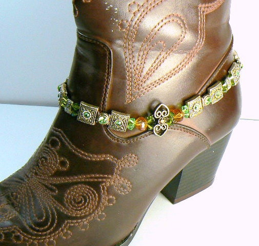 Boot Jewelry Anklet Cowgirl Jewelry Western Boot Bling