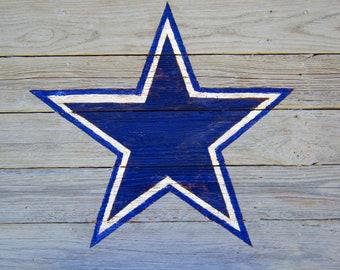 Dallas Cowboys Rustic Sign
