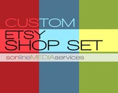 Etsy Shop Banner Design with Avatar