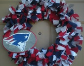 SALE New England Patriots wreath