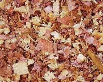 CEDAR Shavings 5, 10 Cups Dried Cedar Chips // Aromatic Red Cedar USA-Grown Wild Harvested 100% Natural // Bug Repellent Crafting Deodorize