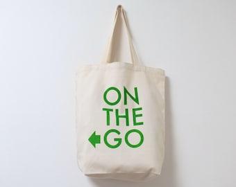Organic Canvas bag, Eco Bag, green