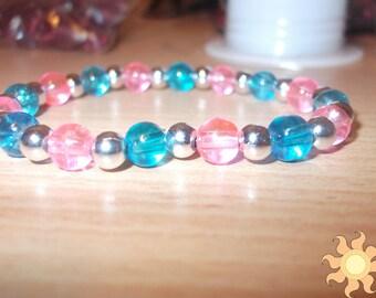 Princess Celestia Themed Beaded Bracelet