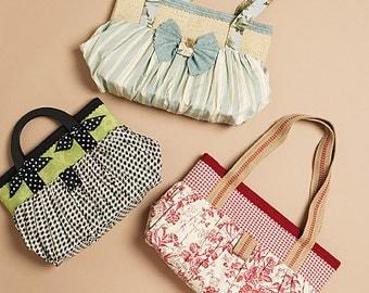 McCalls 6090, bag sewing pattern, Bags sewing pattern, Purse pattern