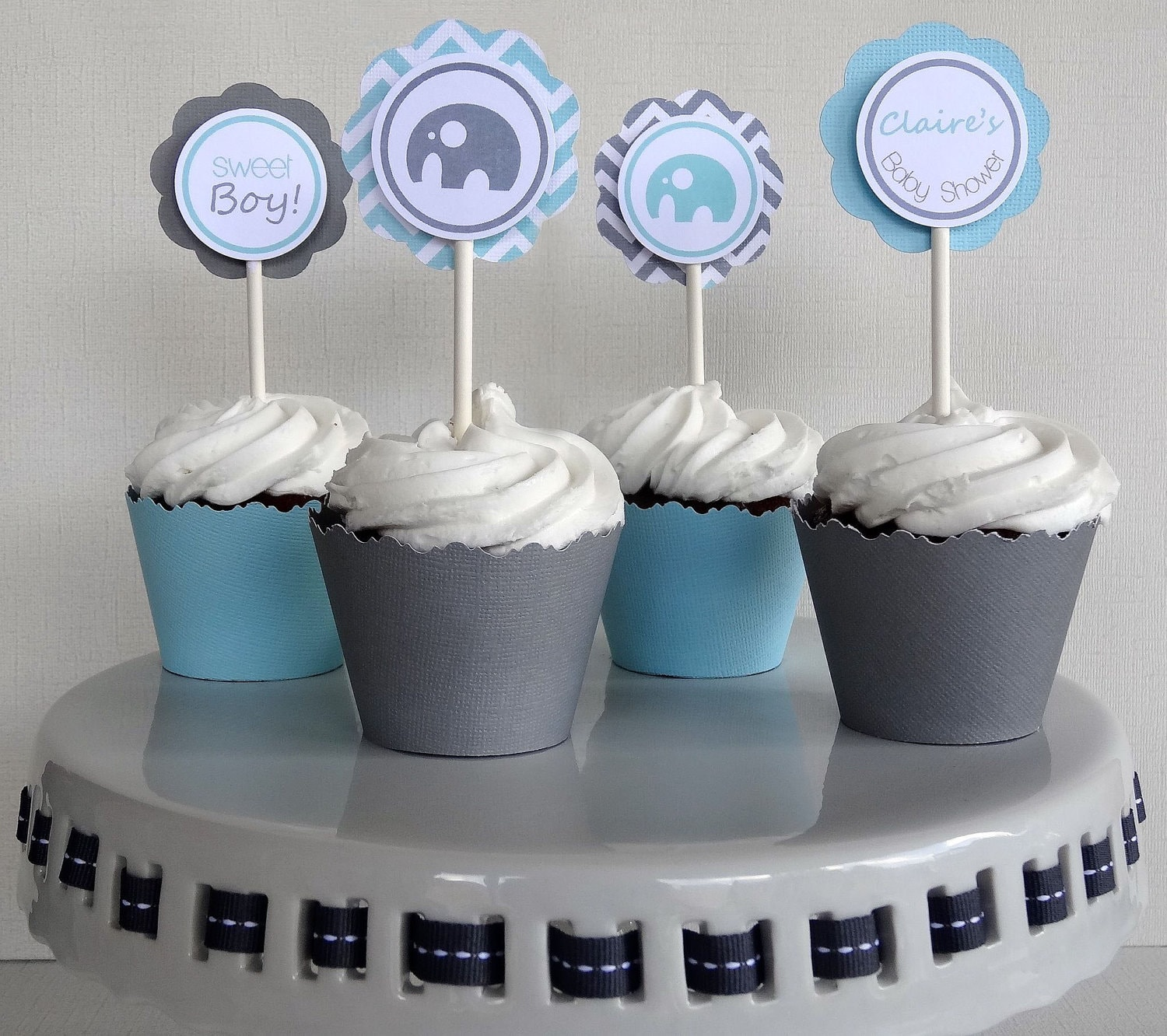 Items Similar To Elephant Baby Shower Decorations