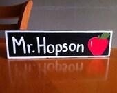 Teacher's Name Desk Sign Classroom Name Plate