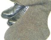 SALE*******Hand Knitted Mixed Heather Kilt Hose