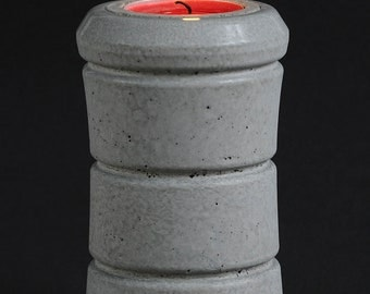 Cement Candle Holder, Future Relic #3