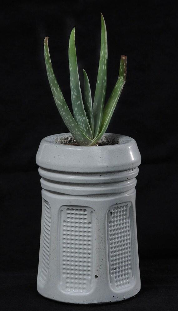 Cement Planter, Future Relic, 4