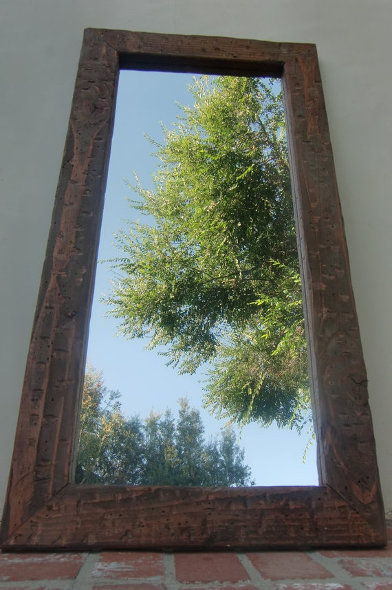 "Distressed Mirror 24"" x 48"""