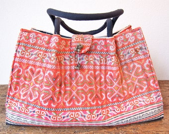 Fabulous all over embroidered, ethnic tote.