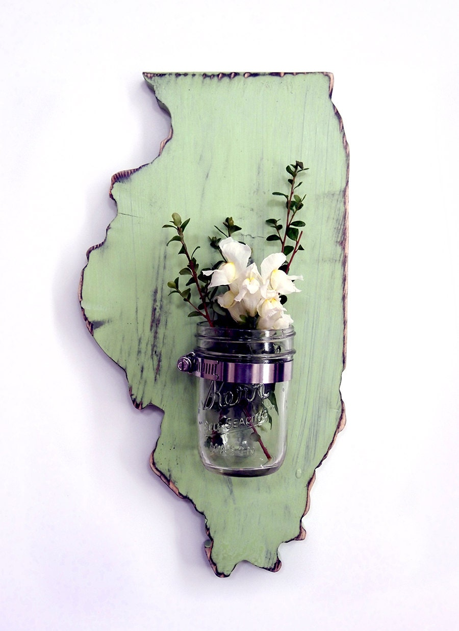 mason jar state wall decor all states available gallery wall