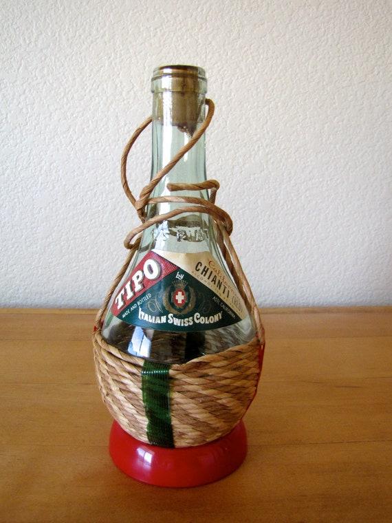 Vintage California Tipo Chianti Wine Bottle