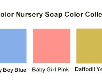 1/2 ounce Tru Colors Nursery Soap Color Collection - Daffodil Yellow