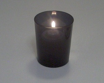 Black Votive Candle Holders