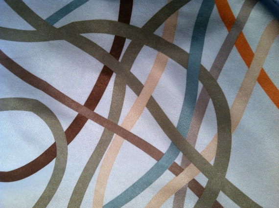 Luxurious Abstract Design Suede Couture Fabric