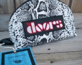 The Doors Giant Fake Snake Odorless No Smell Zipper Pouch Clutch