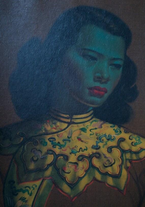Chinese Girl, by Vladimir Tretchikoff