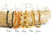SALE* Pure Baltic Amber Teething Necklace - Choose your color